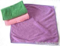 Microfiber floor cleaning cloth
