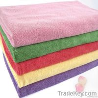 Microfiber floor cleaning cloth