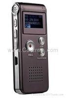 8GB MP3 Digital Voice Recorder with FM