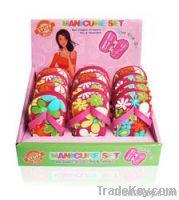 Flip flop manicure set