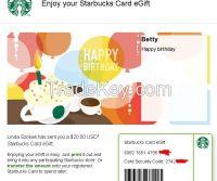 $20 Starbuck...