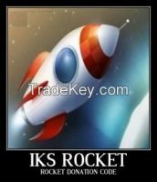 Iks Rocket Code Iksrocket Iksrockets Donation