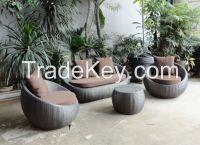 Resin wicker furniture, outdoor rattan furniture, plastic wicker furniture