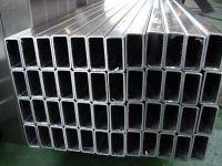 galvanized steel square profile and rectangle profile