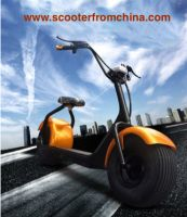 Harley style electric scooter citycoco