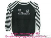 sweater(jacquard, print, sequins)