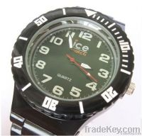 Silicone ice watch