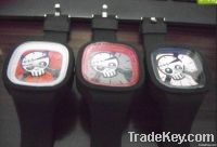 jelly skull watch