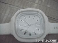 silicone lighting watch