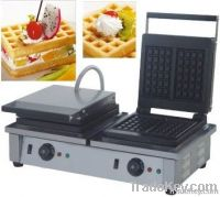 Hot sale waffle machine for both commercial & home use