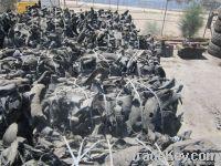 Shredded tires for TDF