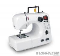 Multi-function computerized domestic sewing machine