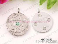 stainless steel pendants/ High power quantum energy pendants