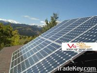 Installed-Italy 2KW solar racking system&solar mounting system