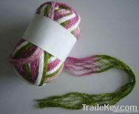 Mesh fancy yarn for hand knitting