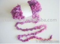 dyed Lurex Feather Fancy Yarn