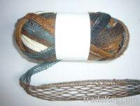 acrylic fancy mesh yarn with lurex