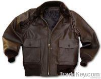 G1 bomber jacket / goatskin flight jacket