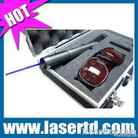 1000mw 450nm blue laser flashlight in aluminum box TD-BP-102