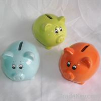 Piggy Bank, Ceramic Bank, Money Box, Money Bank, Coin Bank