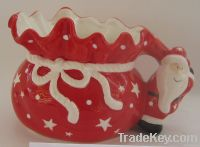 Xmas Tea Pot, Ceramic Tea Pot, Porcelain Tea Pot