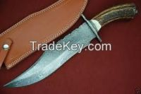 damascus Hunting knife for sale