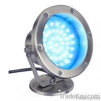 6W LED blue underwater light