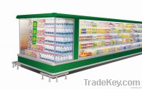 Refrigerator Freezer Display Showcase Cabinet for Dairy, Bottle, Drink