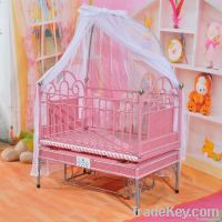 multifunction music baby crib/bed