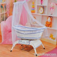 voice control baby swing cot