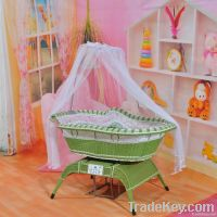 Unique design electric swing Baby beds/cribs