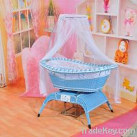 voice control baby swing crib