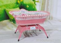 2011New rattan swing Baby cot/crib