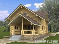 Wooden house 125 m2