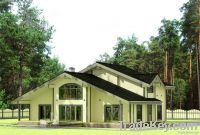 Wooden house 221 m2