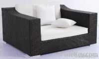 2012 wicker furniture rattan XXL single seater sofa chair WJK-SF-05