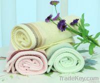 Free shipping, OEM, bamboo fiber towel