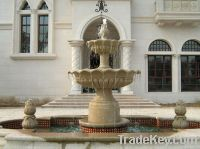 FRP Imitation stone fountain