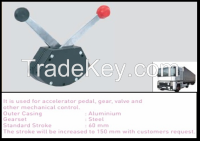 Transmixer throttle and hydraulic control box  LTS-11-B