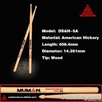 Hot Sale drumsticks! 5A American Hickory wood drum sticks