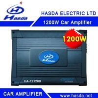 Hot Selling 1200w car amplifier with speaker and subwoofer