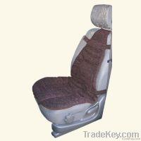 Car cushion with amber gemstone filling