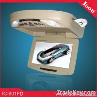 9inch Flip Down Monitor with DVD player