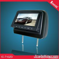 7inch Headrest Combo DVD Monitor with Touch Button
