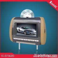 7inch Headrest Combo DVD Monitor