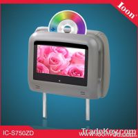 7inch Headrest Combo DVD Monitor with Touch Screen