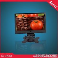 7inch Digital Headrest Monitor with Touch Button