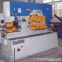 hydraulic steel iron worker