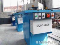 Steel metal fabrication, hyrdaulic notching machine