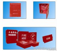 Glass fiber reinforced plastic box for fire hose
